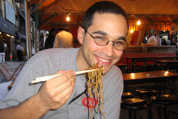 Adam Pervez in Japan