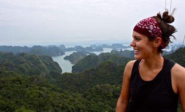 Sarah in Vietnam