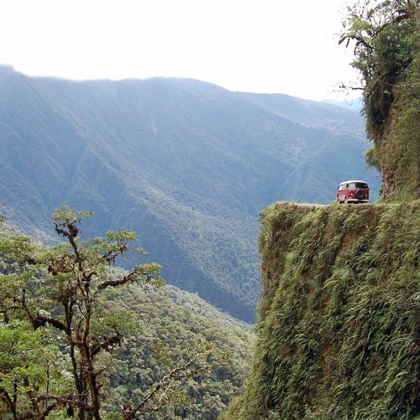 La Ruta de Muerte, Bolivia