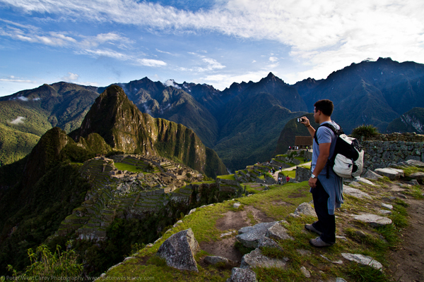 Photographing Machu Picchu