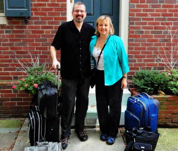 Larissa Michael Milne luggage RTW MPG