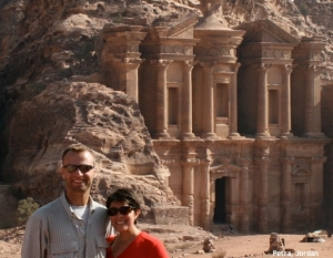Keith & Amy Sutter in Jordan