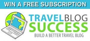 Travel Blog Success Giveaway