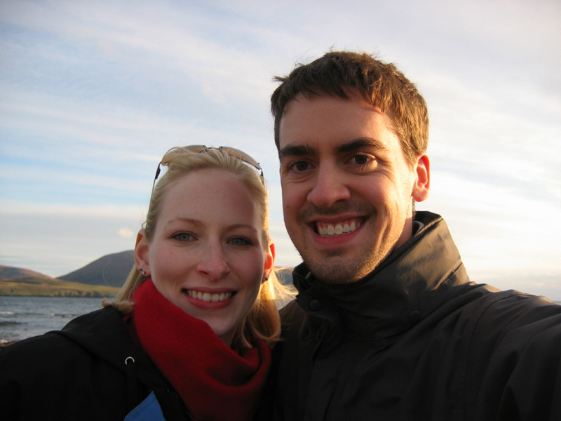 Keith & Sarah Savage in Scotland