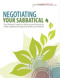 Negotiating Your Sabbatical