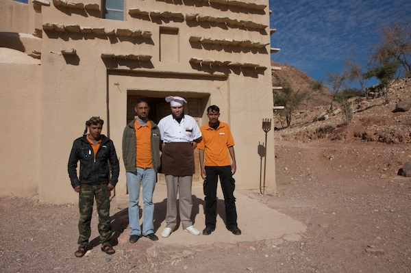 feynan ecolodge staff